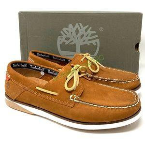 Timberland Atlantic Break Boat Men's Shoes Nubuck